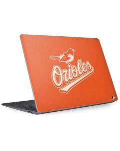 Baltimore Orioles Monotone Surface Laptop 3 13.5in Skin