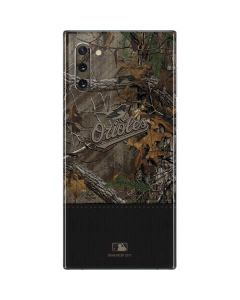 Baltimore Orioles Realtree Xtra Camo Galaxy Note 10 Skin