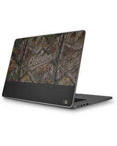 Baltimore Orioles Realtree Xtra Camo Apple MacBook Pro 17-inch Skin