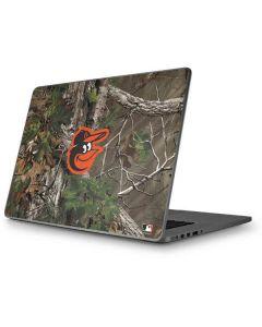 Baltimore Orioles Realtree Xtra Green Camo Apple MacBook Pro 17-inch Skin