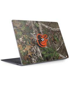 Baltimore Orioles Realtree Xtra Green Camo Surface Laptop 3 13.5in Skin