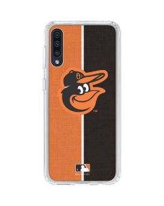 Baltimore Orioles Split Galaxy A50 Clear Case