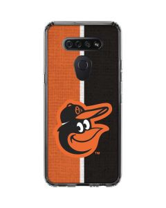 Baltimore Orioles Split LG K51/Q51 Clear Case