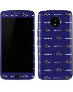 Baltimore Ravens Blitz Series Moto E4 Plus Skin