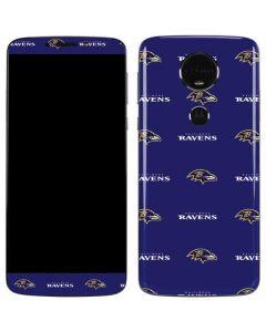 Baltimore Ravens Blitz Series Moto E5 Plus Skin