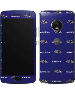 Baltimore Ravens Blitz Series Moto G5 Plus Skin