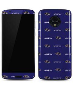Baltimore Ravens Blitz Series Moto G6 Skin