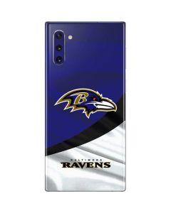 Baltimore Ravens Galaxy Note 10 Skin