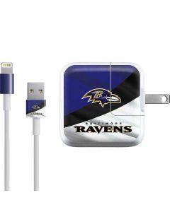 Baltimore Ravens iPad Charger (10W USB) Skin