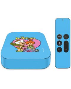 Bamm-Bamm and Pebbles Apple TV Skin