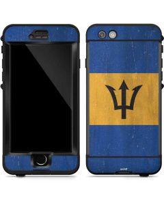 Barbados Flag Distressed LifeProof Nuud iPhone Skin