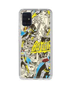Batgirl All Over Print Galaxy A51 Clear Case