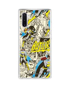 Batgirl All Over Print Galaxy Note 10 Clear Case