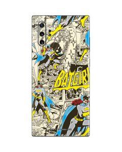 Batgirl All Over Print Galaxy Note 10 Plus Skin