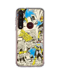 Batgirl All Over Print Moto G8 Plus Clear Case