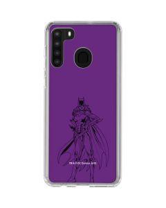 Batgirl Comic Pop Galaxy A21 Clear Case