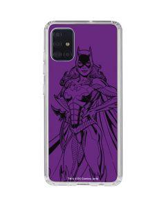 Batgirl Comic Pop Galaxy A51 Clear Case