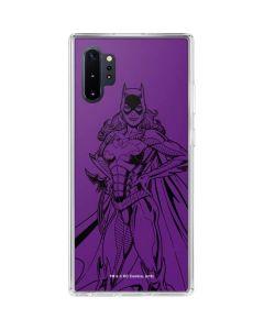 Batgirl Comic Pop Galaxy Note 10 Plus Clear Case