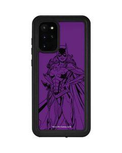 Batgirl Comic Pop Galaxy S20 Plus Waterproof Case