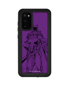 Batgirl Comic Pop Galaxy S20 Waterproof Case