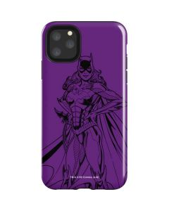 Batgirl Comic Pop iPhone 11 Pro Max Impact Case