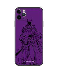 Batgirl Comic Pop iPhone 11 Pro Max Skin