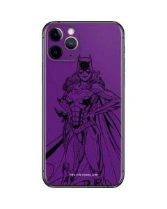 Batgirl Comic Pop iPhone 11 Pro Skin