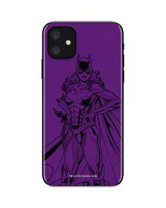 Batgirl Comic Pop iPhone 11 Skin