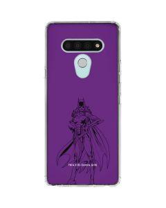 Batgirl Comic Pop LG Stylo 6 Clear Case