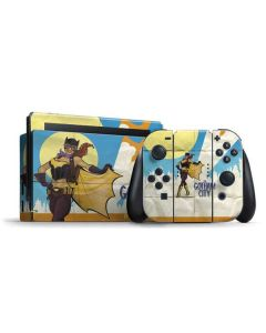Batgirl- Fly Gotham City Airlines Nintendo Switch Bundle Skin