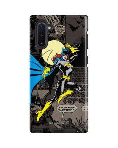 Batgirl Mixed Media Galaxy Note 10 Pro Case