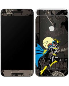 Batgirl Mixed Media Google Nexus 6P Skin