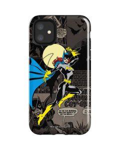 Batgirl Mixed Media iPhone 11 Impact Case