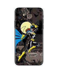 Batgirl Mixed Media iPhone 11 Skin