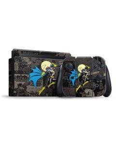 Batgirl Mixed Media Nintendo Switch Bundle Skin