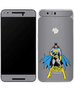 Batgirl Portrait Google Nexus 6P Skin