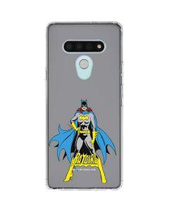 Batgirl Portrait LG Stylo 6 Clear Case