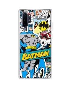 Batman Comic Book Galaxy Note 10 Plus Clear Case