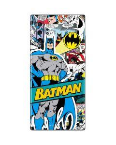 Batman Comic Book Galaxy Note 10 Plus Skin