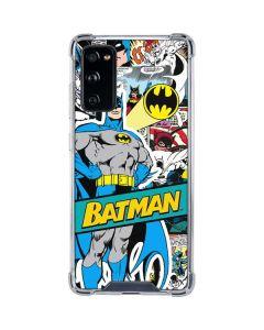 Batman Comic Book Galaxy S20 FE Clear Case