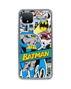 Batman Comic Book Google Pixel 4 Clear Case