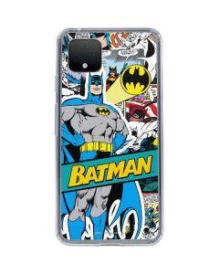 Batman Comic Book Google Pixel 4 XL Clear Case