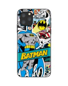 Batman Comic Book iPhone 11 Pro Skin