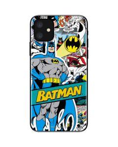 Batman Comic Book iPhone 11 Skin