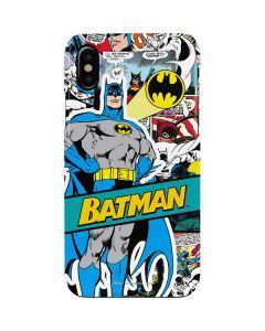 Batman Comic Book iPhone XS Max Lite Case
