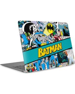 Batman Comic Book Apple MacBook Air Skin