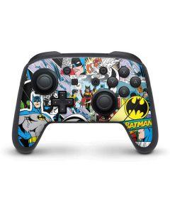 Batman Comic Book Nintendo Switch Pro Controller Skin