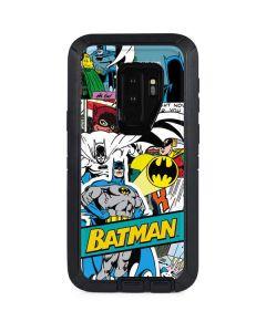 Batman Comic Book Otterbox Defender Galaxy Skin