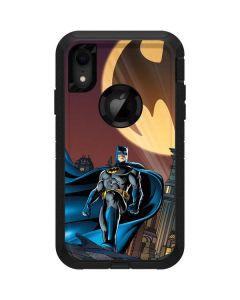 Batman in the Sky Otterbox Defender iPhone Skin