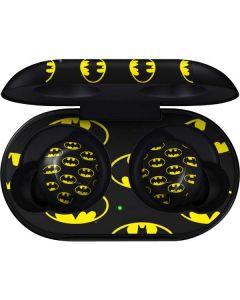Batman Logo All Over Print Galaxy Buds Skin